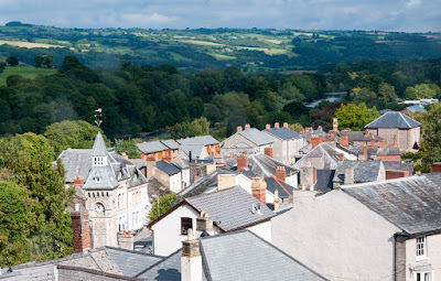 Hay-on-Wye from its castle