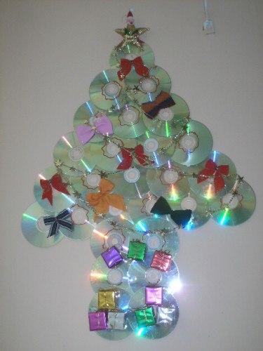 Enfeites de Natal Reciclado guirlanda