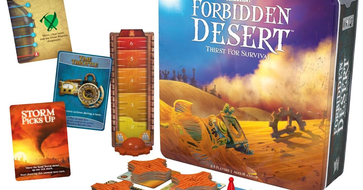 Gamewright Forbidden Island Game Uk