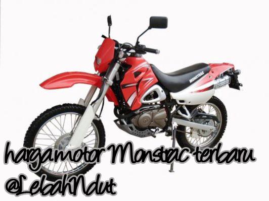 harga motor monstrac terbaru terlengkap terkini dealernya sun motor