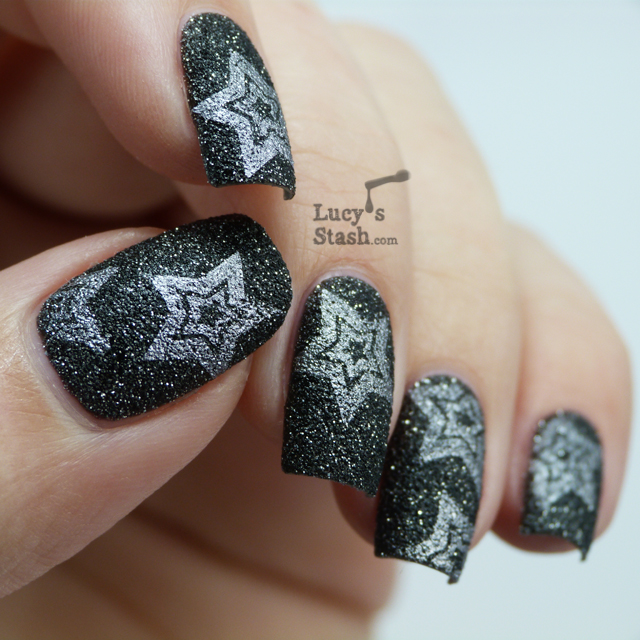 Lucy's Stash nail art