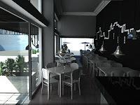 3d model interior bar