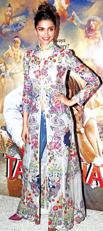 Deepika Padukone's trendy Tamasha looks