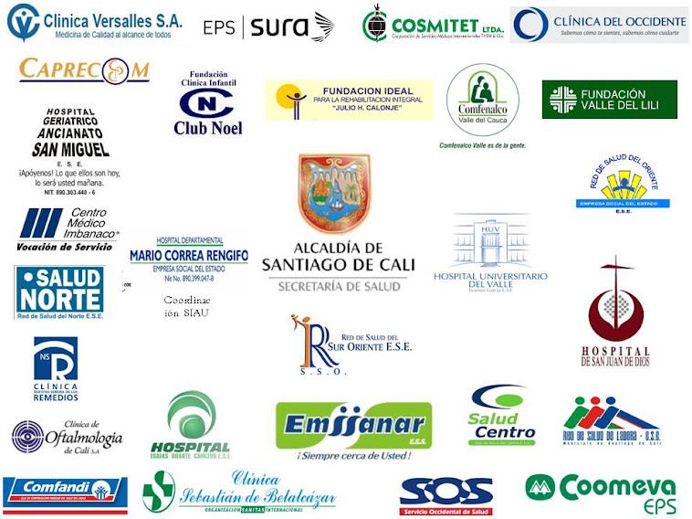 Instituciones adscritas al Colectivo