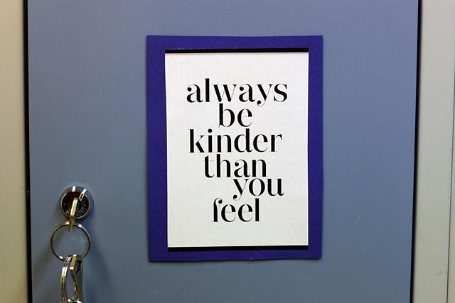 Ole ystävällinen