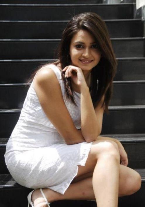 Kriti Kharbanda Cute Stills White Dress