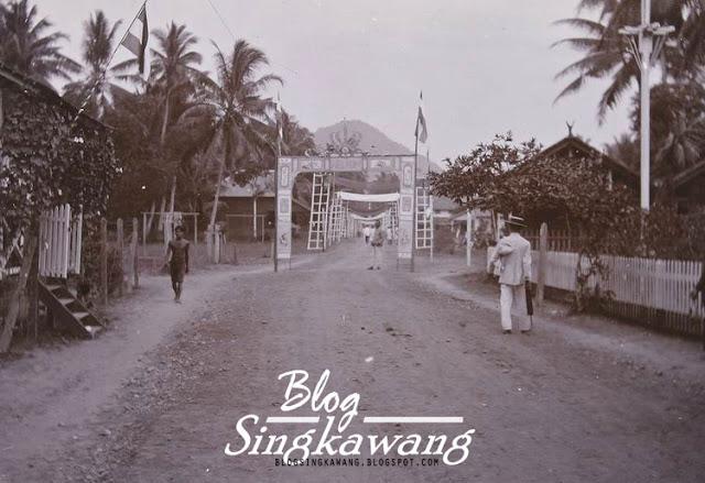 Foto jaman dulu Kampung pasiran singkawang