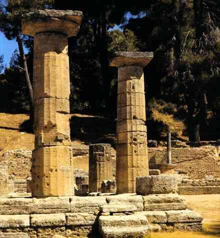 Arte griego arquitectura for Arquitectura griega templos