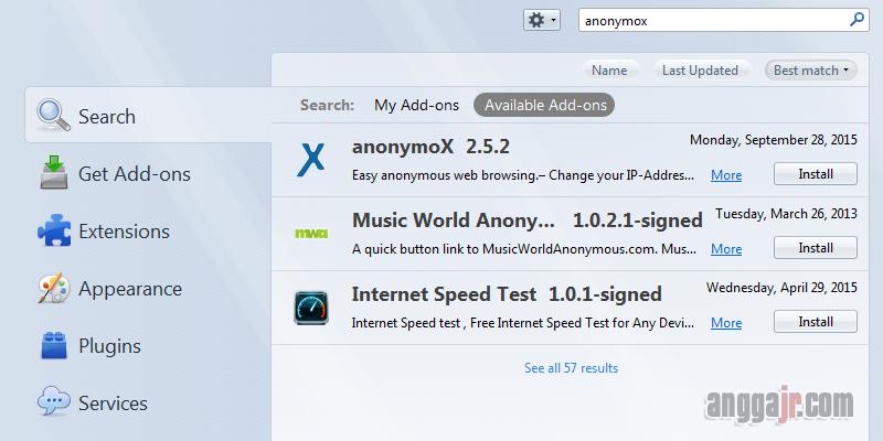 Cara Buka Situs Yang Diblokir di Mozila Firefox, Cara Buka Situs yang diblokir pemerintah kemenkominfo operator seluler, Cara Pasang Anonymox pada mozila firefox, cara membuka situs diblokir internet positif, anonymox mozilla terbaru, cara mengaktifkan anonymox, cara menggunakan anonymox di google chrome, cara menggunakan anonymox mozilla