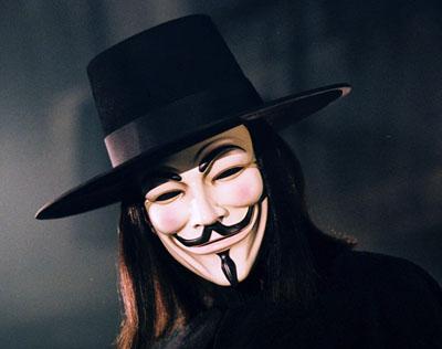 Le più belle frasi di V per Vendetta Facebook