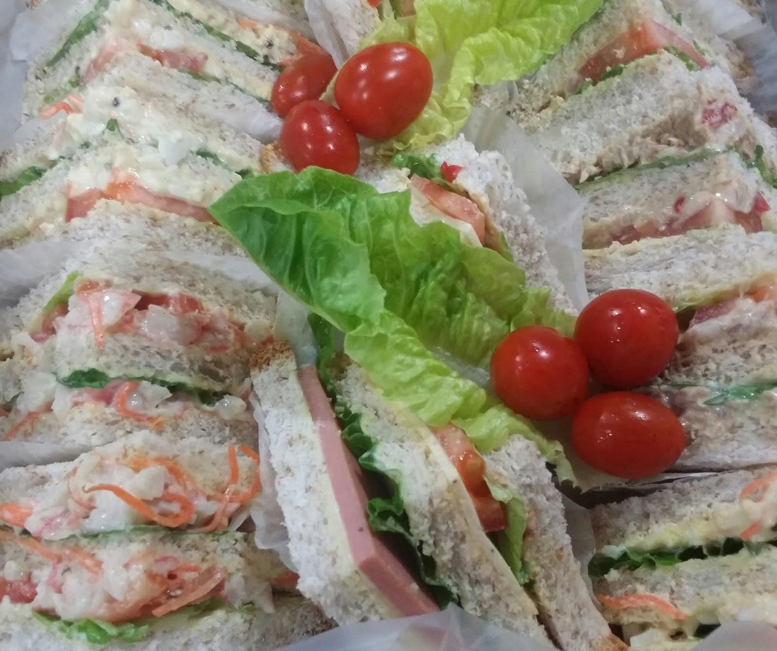 kelas Personal Assorted Sandwich RM220