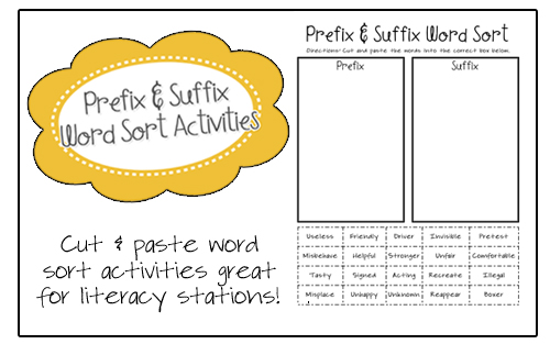 cut and paste prefixes and suffixes | Ashley blog