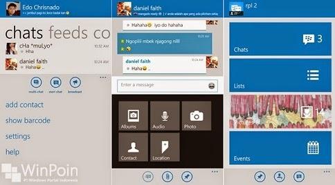 Review BBM di Windows Phone 2