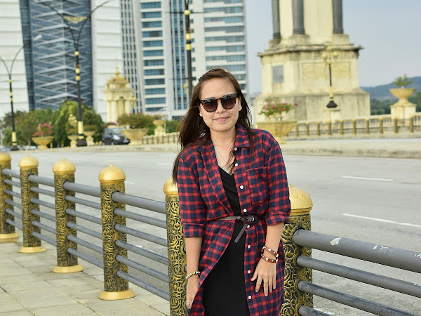 Outfit Diary: Oversize check shirt+black dress | Breathless moment