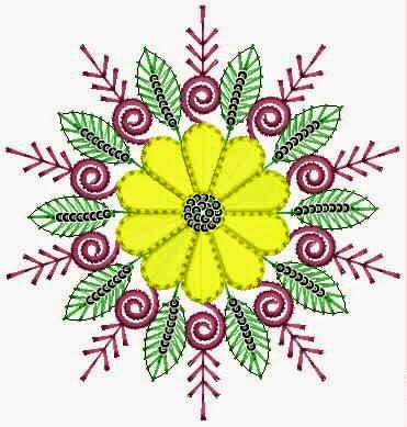 inheemse kulturele appliekwerk ontwerp