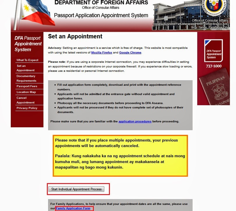 Philippine Passport Application Philippine Government Services