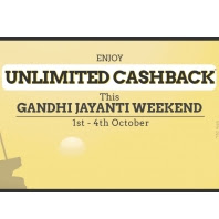 Taxiforsure Gandhi Jayanti Weekend Offer : Get 75% Cashback on All Rides
