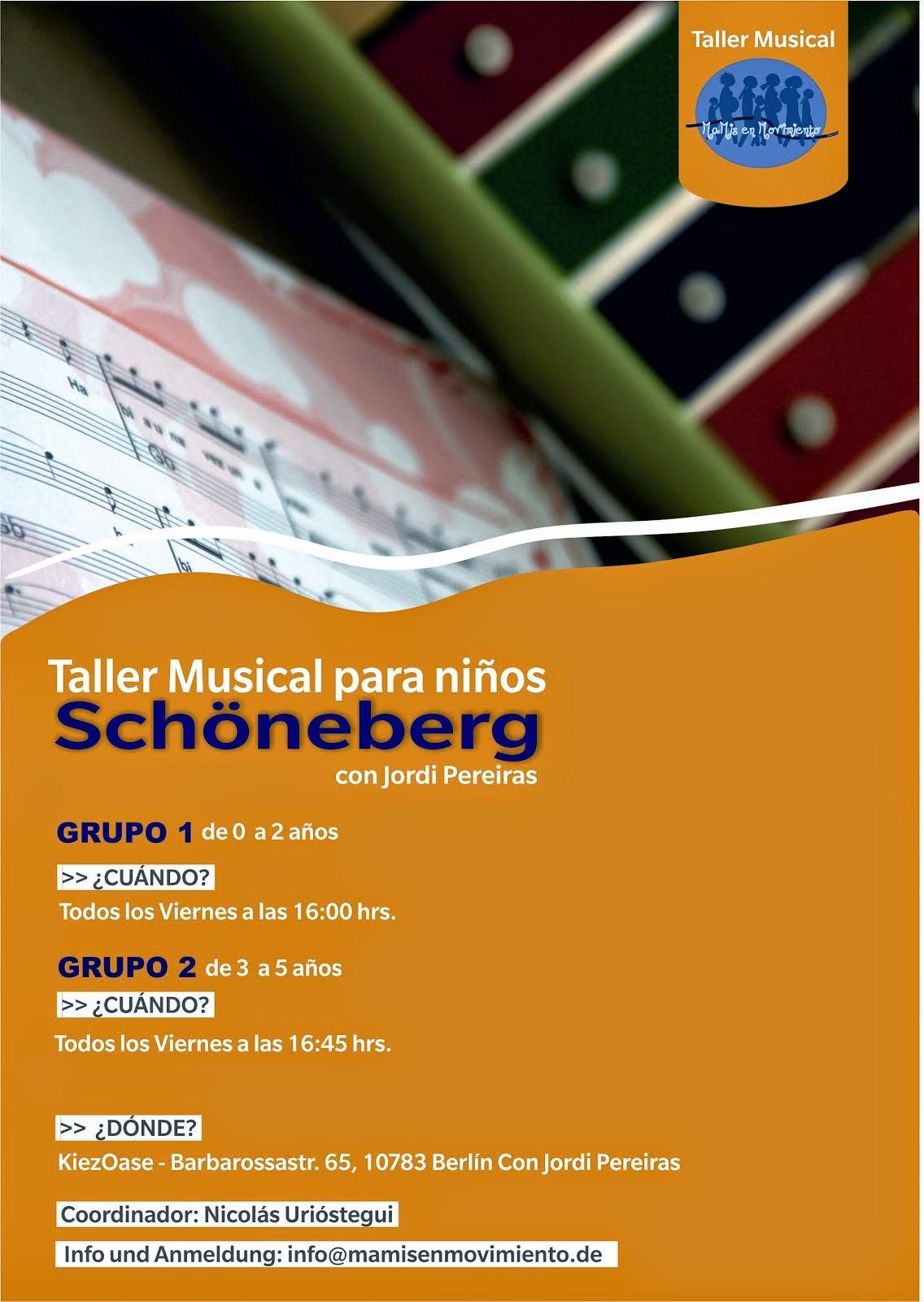 Música en Schöneberg - KiezOAse en Schöneberg - 16:00-18:00 Uhr