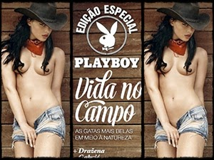 Nova Revista Playboy Vida no Campo