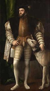 Retrato de Carlos I. Tiziano (1533)