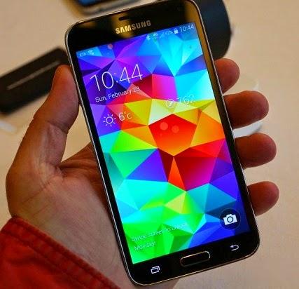 harga dan spesifikasi Samsung Galaxy S5 SM-G900I