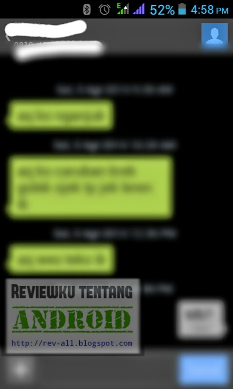 Contoh percakapan aplikasi Textra SMS - aplikasi SMS pengganti aplikasi Stock SMS Android (rev-all.blogspot.com)