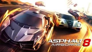 Game asphalt 8 mod money tidak habis uang
