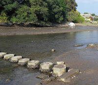 Stepping stones at Lerryn