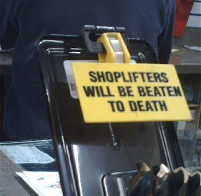 steal and you will be beaten to death