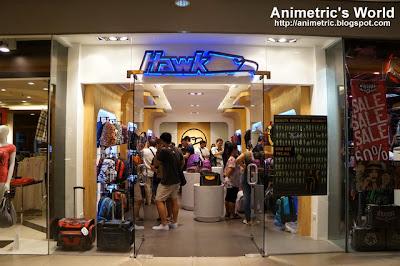 Hawk concept store at Market Market