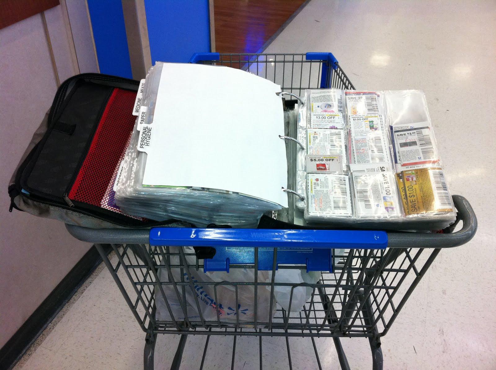 Coupon master clipping service - A Savvy Tip Coupon Binder Shopping Cart Trick