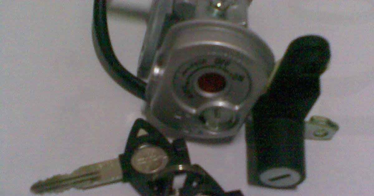 Blog Zulfin: Mengganti Kunci Kontak Yamaha Jupiter MX (old