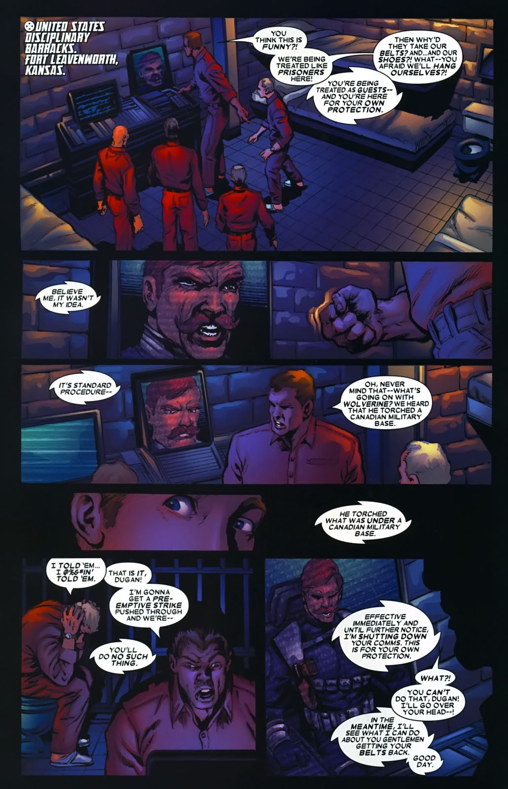 Read online Wolverine (2003) comic -  Issue #39 - 5
