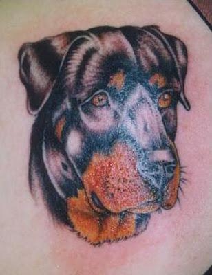 dog tattoo Design