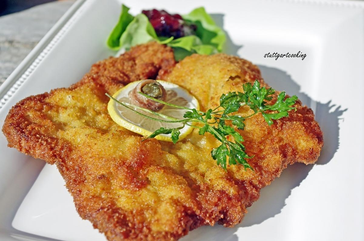 Wiener Schnitzel nach der Johann Lafer Methode