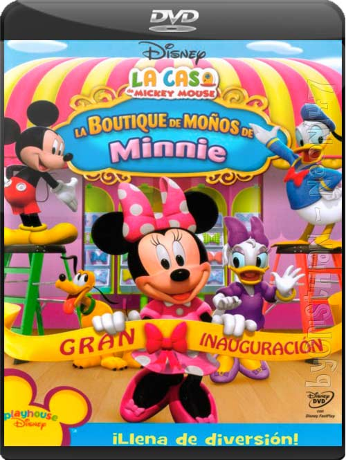 La Casa de Mickey Mouse: La Boutique de Moños de Minnie (Castellano) (DVDRip) (Audio AC3) (2011)