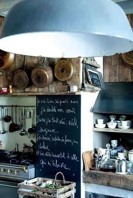 detalle cocina industrial casa libros