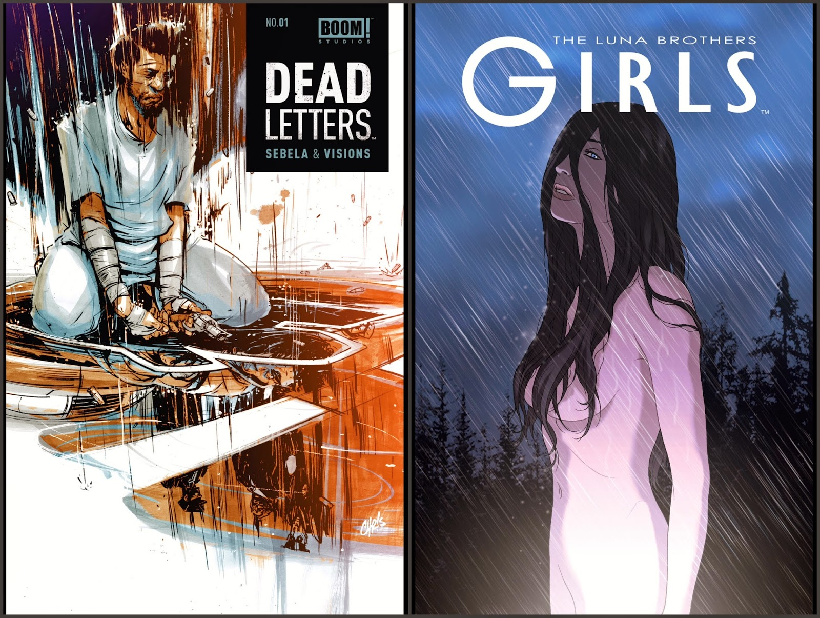 Dead Letters #1; Girls #1