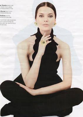 Anna Vorobyeva for Haute Living Magazine New York
