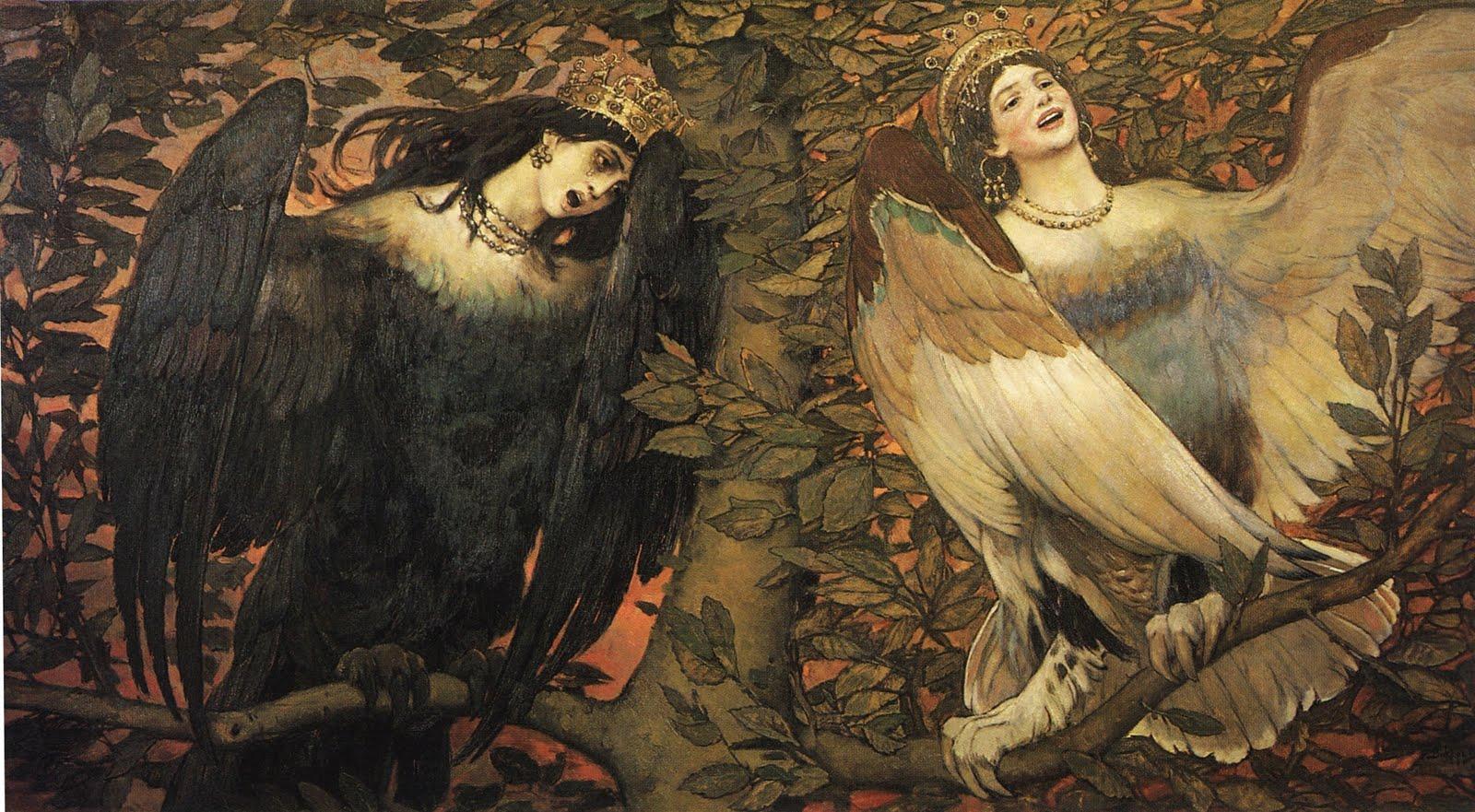 viktor vasnetsov birds