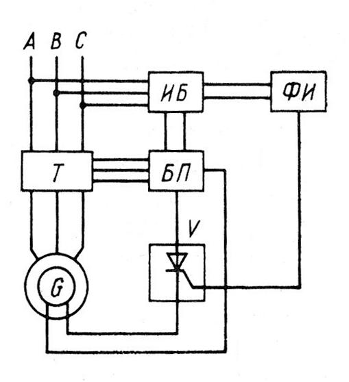 Схема тиристорного стабилизатора напряжения фото 911