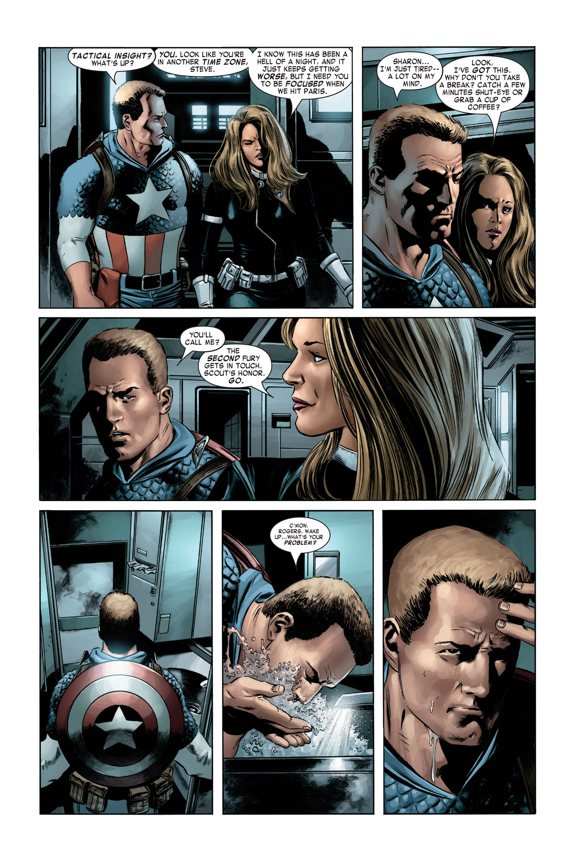 Captain America (2005) Issue #3 #3 - English 5