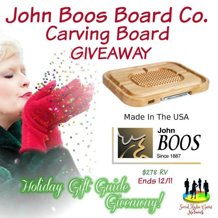 Carving Board Giveaway