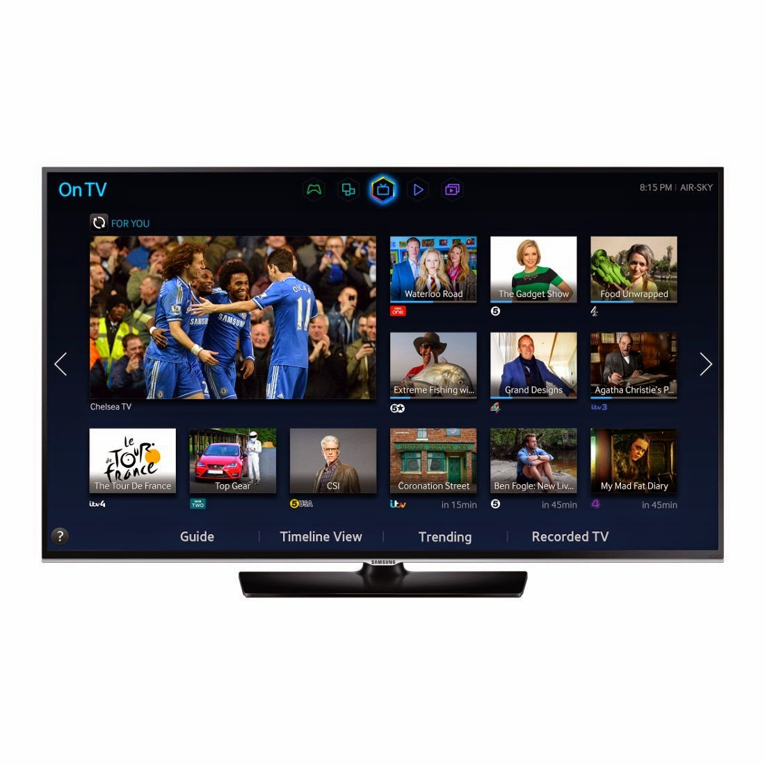 Samsung UE32H5500 32-inch Widescreen Full HD Smart LED TV