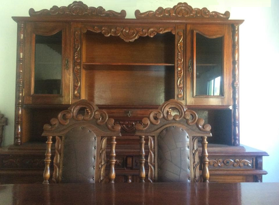 REF 09 e 10 Sala de Jantar Colonial Cerejeira  REF: Nº10 o conjunto sai por R$8.000,00 (VENDIDO)