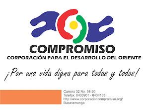 Página de la Corporación Compromiso