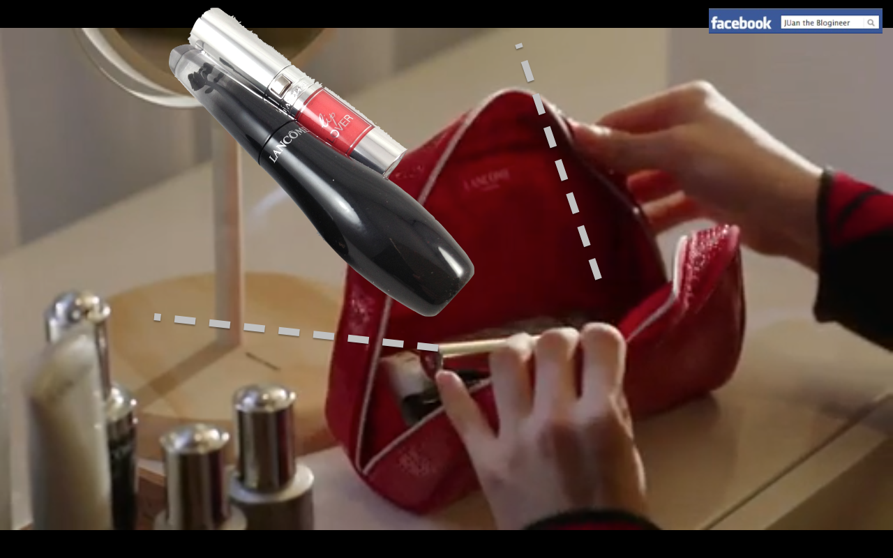 >> 剖析「海德哲基爾與我」女主角妝容*Lancôme Grandiôse Smudgeproof Mascara﹠Lip lover