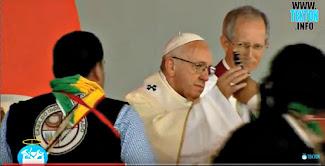 Bergoglio viola el Primer Mandamiento poniendo dioses paganos delante de Dios.