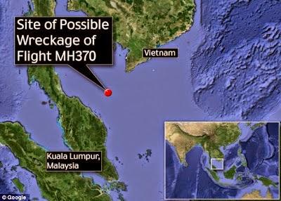 Bangkai MH370 Di Temui Di Bawah Laut Barat Songkhla Thailand