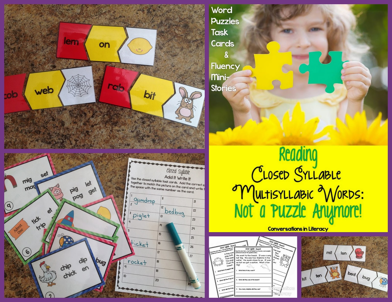 learning to read multisyllabic closed words